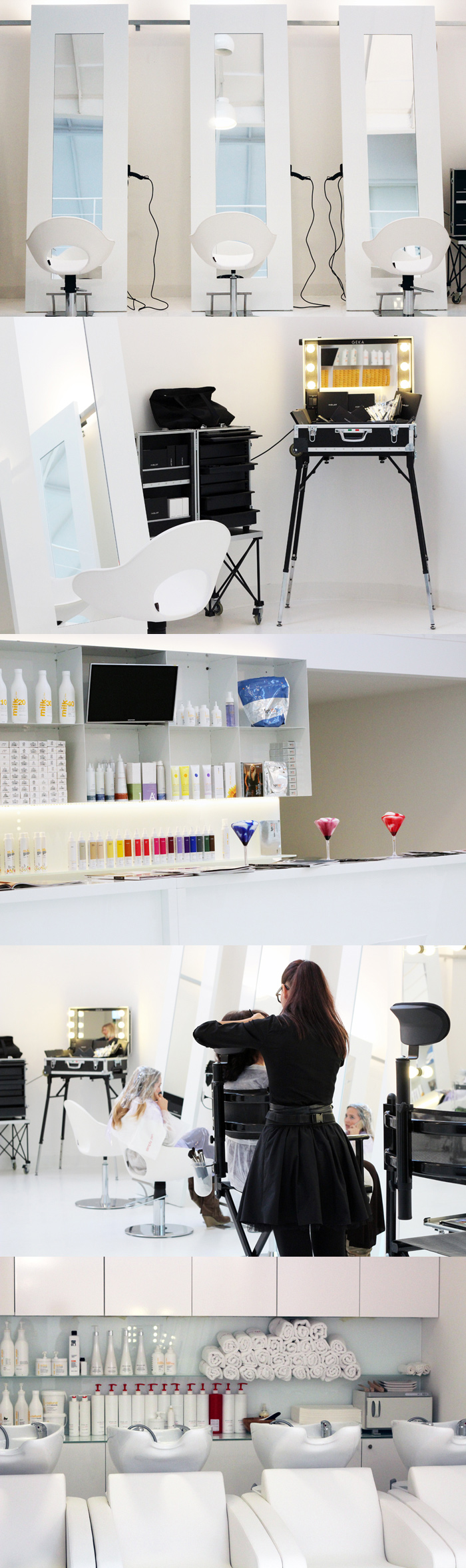 The space hair beauty loft a milano blue is in for Loft via savona 97