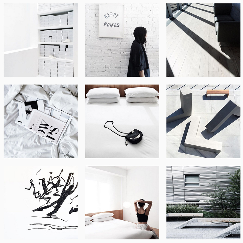 minimalism on instagram 5 accounts to follow blue is in fashion this year