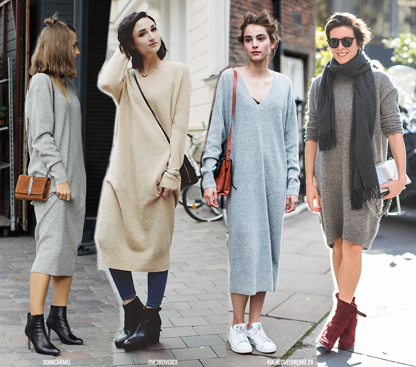 Easy To Wear: the Knitted Dress
