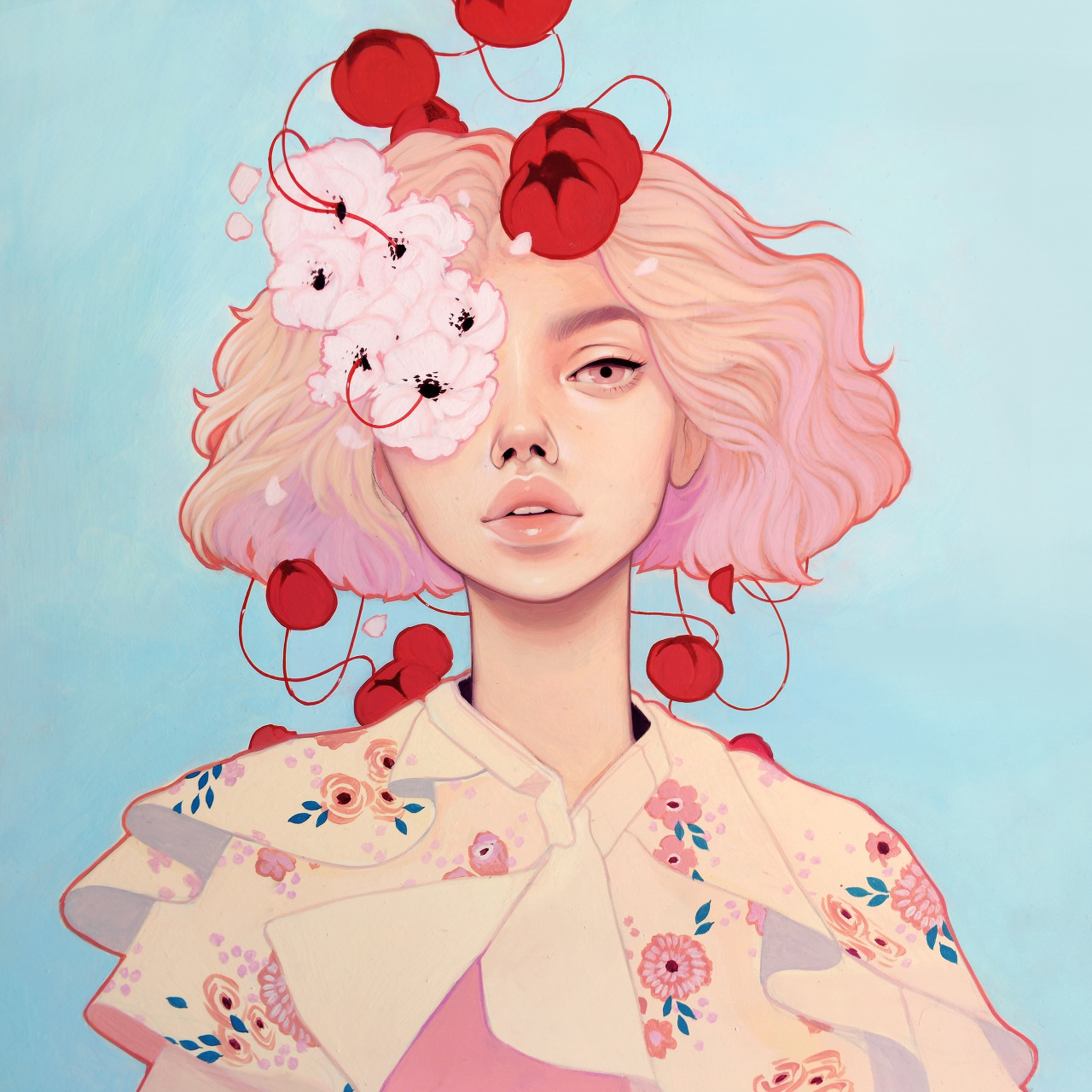 Best Pinterest Art: Blue Is In Fashion This Year