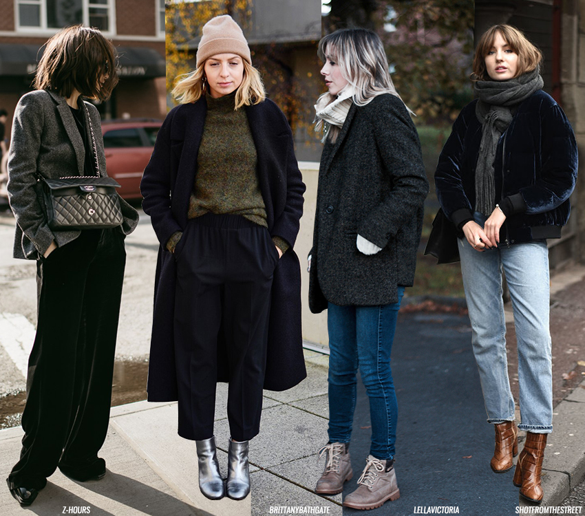 Winter Looks To Wear Right Now Blue Is In Fashion This Year Bloglovin