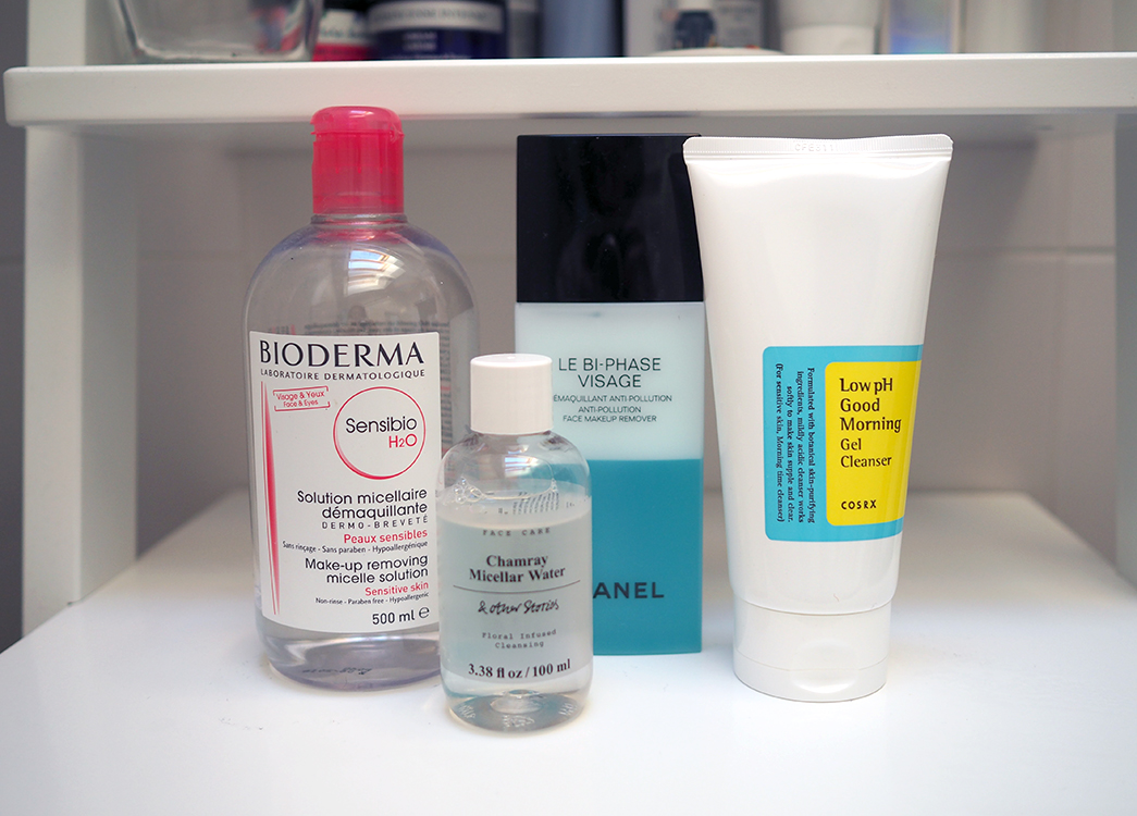 skincare-routine-cleanse