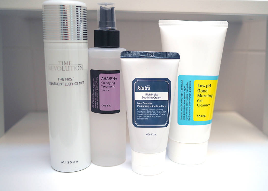 skincare-routine-korean-products