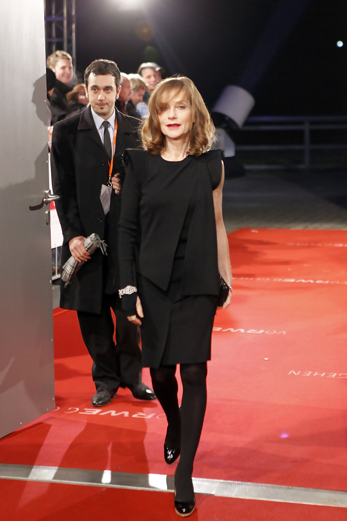 Isabelle Huppert Anthology Blue Is In Fashion This Year