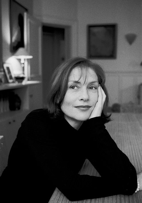FRANCE, Paris: Portrait of the french actress Isabelle HUPPERT.. ©Ferdinando Scianna/Magnum Photos