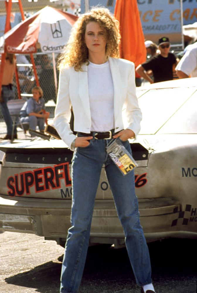 DAYS OF THUNDER, Nicole Kidman, 1990