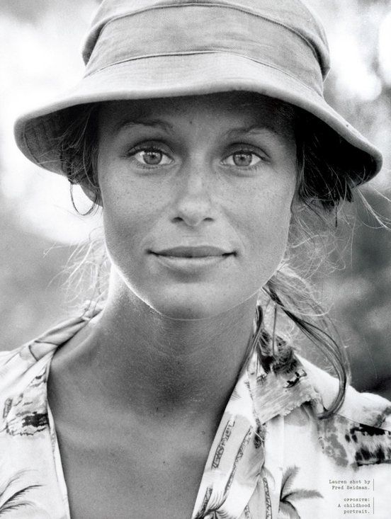 Dedicated To Lauren Hutton Blue Is In Fashion This Year