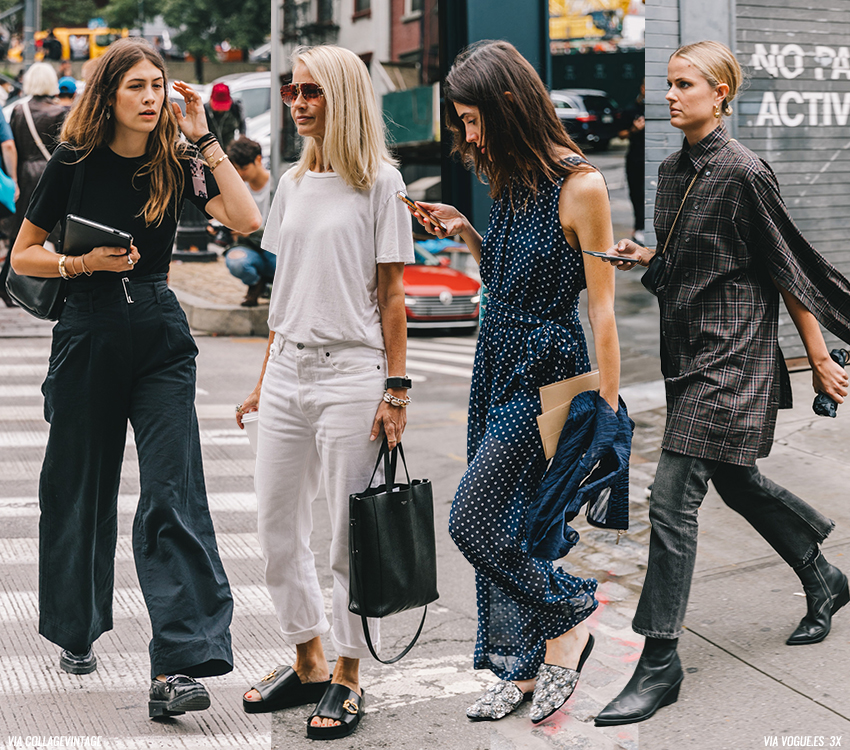 New Looks from Fashion Weeks